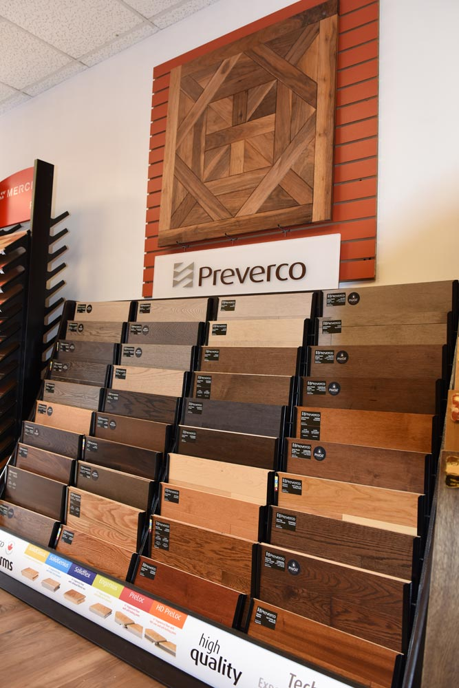 Preverco Wood Flooring: Wood Floor Planet office in New Jersey